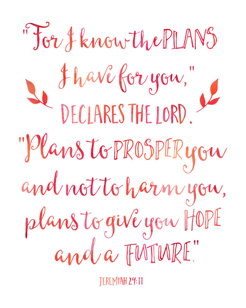 for i know the plans printable
